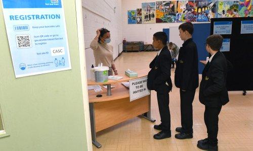 English schools struggle to cope as Covid wreaks havoc