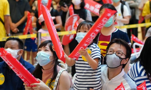 'We are Hong Kong': can the Olympics sidestep the politicisation of sport in China?