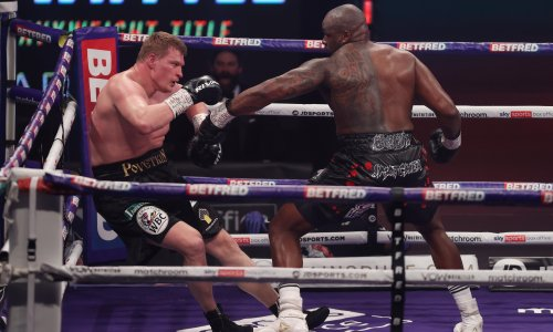 Dillian Whyte back at the centre of solitary world of heavyweight boxing