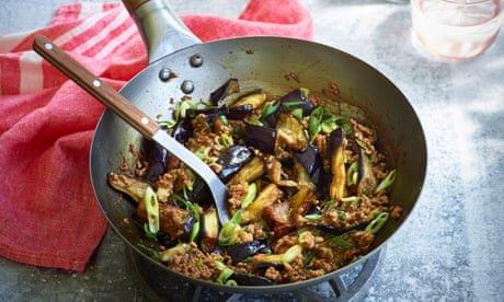 Hangzhou aubergines – rou mo qie zi by Fuchsia Dunlop