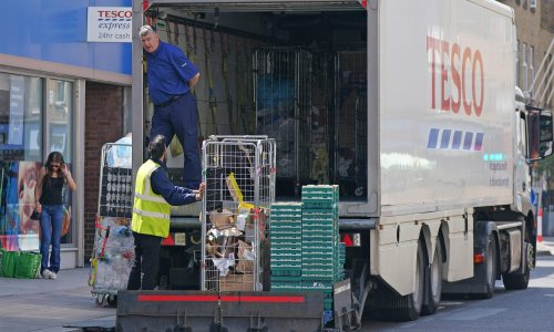 Call for action as UK driver shortage hits supermarket shelves