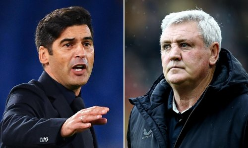 Newcastle in advanced talks with Paulo Fonseca after Steve Bruce departs