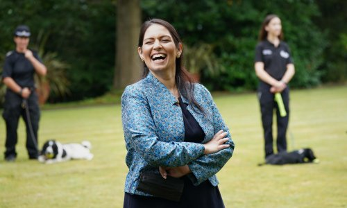 Priti Patel's 'support' for the police is little more than gesture politics