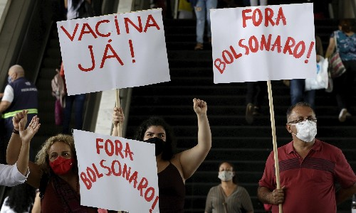 'We're being left behind': anger and confusion in Brazil as vaccine program lags