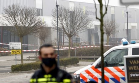 Dutch Covid test centre hit by suspected bomb attack