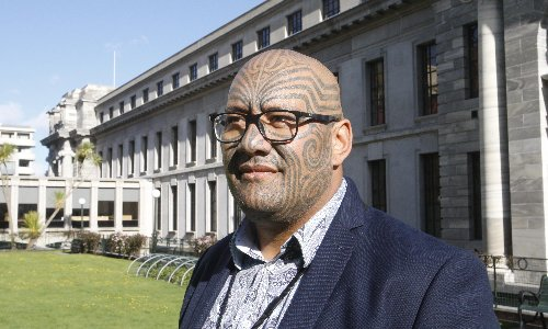 Māori party co-leader ejected from parliament after performing haka in racism row
