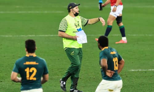 South Africa's Rassie Erasmus has abandoned grace and dignity