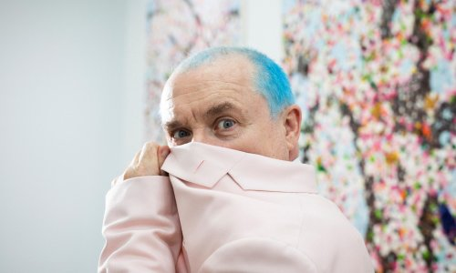 Damien Hirst on painting cherry blossom: 'It's taken me until I'm 55 to please my mum'