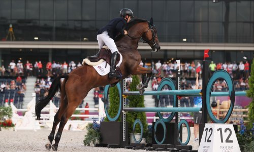 Team GB strike gold and silver in Olympic eventing competition