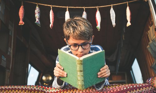 My kids won't even pick up a book – and it is definitely all my fault