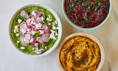 Hummus, salsa, pea and mint: Ravinder Bhogal's recipes for summer dips