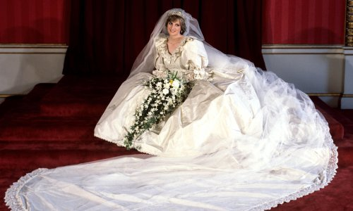 Taffeta with no tantrums: How we created Diana's fairytale wedding dress