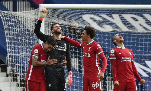 Alisson scores incredible last-minute winner for Liverpool to stun West Brom