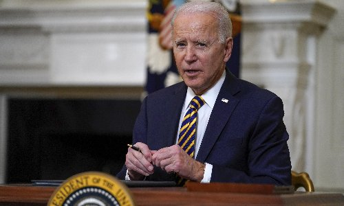 Biden plans to beef up IRS to claim up to $700bn in tax from richest Americans