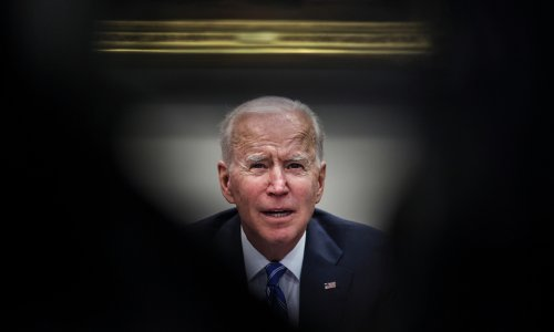 'He's like an upside down iceberg': historian Jon Meacham on Joe Biden