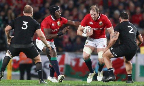 Lions captain Alun Wyn Jones feels hand of history on his shoulder