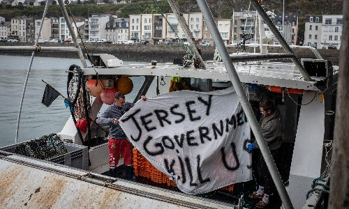 French fishers' protest over Jersey rights is over but the dispute will go on