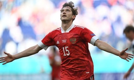 Finland 0-1 Russia: Euro 2020 – as it happened