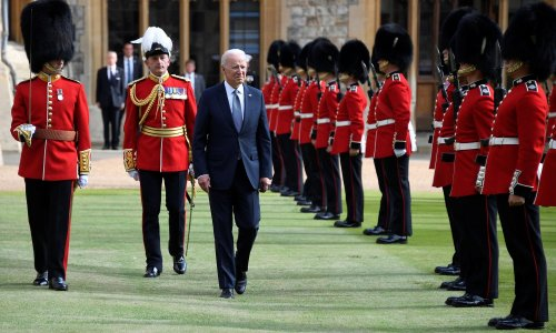 Biden reveals Queen asked about Putin and Xi during tea at Windsor Castle