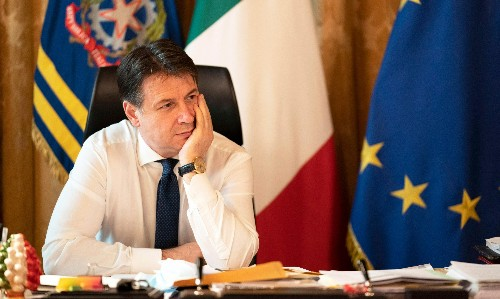 Italy's power struggle raises fears over Covid and the economy