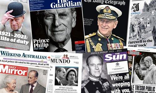 'He was her king': what the papers say after Prince Philip's death