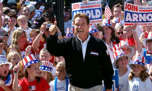 The recall circus is back: Schwarzenegger's 2003 win and the fight to oust Gavin Newsom