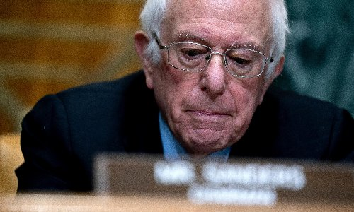 Bernie Sanders: US sick of subsidizing 'starvation wages' at Walmart and McDonald's