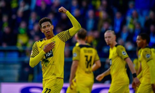 Bellingham beauty keeps up Dortmund chase as Bayern rout Hoffenheim