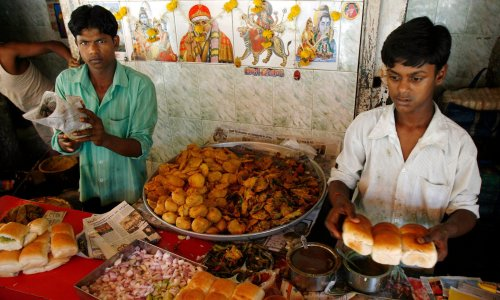 I ate three in a row: the Bombay burger, India's favourite fast food – plus the recipe