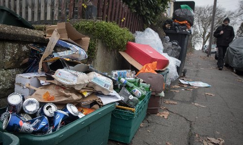 Revealed: why hundreds of thousands of tonnes of recycling are going up in smoke