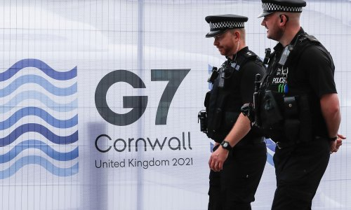 Second G7 summit police officer tests positive for Covid-19