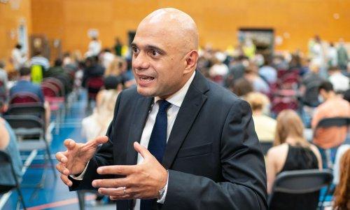Sajid Javid admits UK Covid rates unpredictable as cases rise again