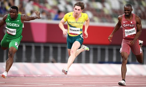 Browning's Olympic adventure ends but Bol surges into 800m final