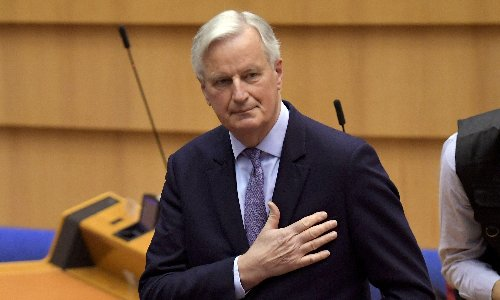 'Tory quarrels and betrayals' determined UK's post-Brexit future, says Barnier