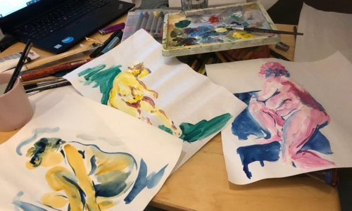Now for the nudes: thousands turn to online life drawing