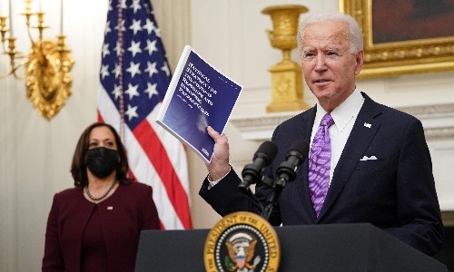Joe Biden's talk of 'healing' is pointless, and will be seen as weakness by the right