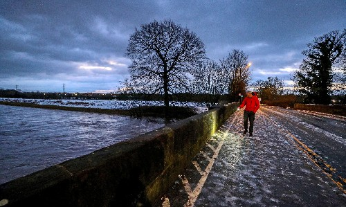 Storm Christoph: five severe flood warnings remain in place in UK