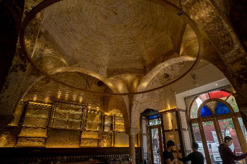Islamic 12th-century bathhouse uncovered in Seville tapas bar