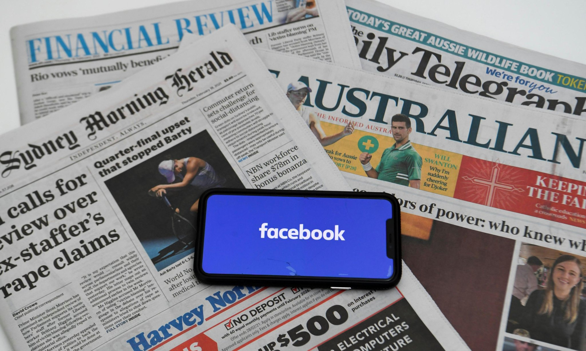 'Time to reactivate MySpace': the day Australia woke up to a Facebook news blackout