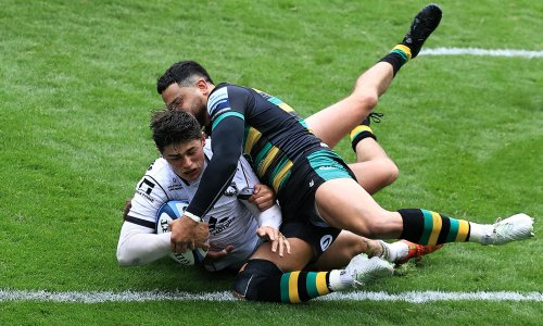 Louis Rees-Zammit doubles up as superb Gloucester rout Northampton