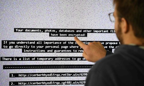 Ransomware is biggest online threat to people in UK, spy agency chief to warn