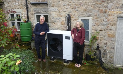 'It's been brilliant': air source heat pump will recoup cost for owner