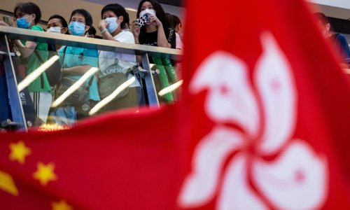 Hong Kong man arrested for allegedly booing Chinese anthem while watching Olympics