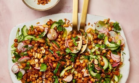 Yotam Ottolenghi's recipes for tinned tuna, chickpeas and apples