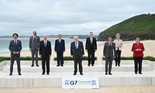 G7 backs Biden infrastructure plan to rival China's belt and road initiative