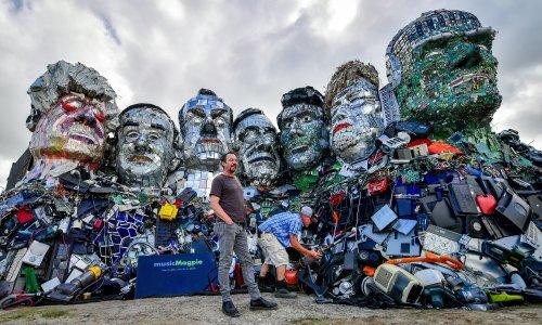 'They thought we were terrorists': meet Joe Rush, the master of mutoid art and king of Glastonbury