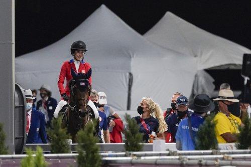 Jessica Springsteen debuts at Olympics, misses individual jumping final