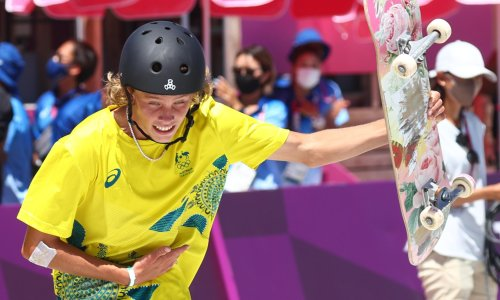 Australia equals best Olympic medal tally with quickfire canoe and skateboard golds
