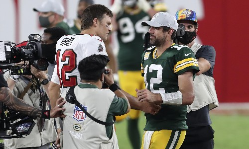 NFL conference championship picks: Brady v Rodgers, and a Chiefs shock