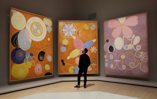 Hilma af Klint's 'miraculous' art: 'In dialogue with spirits, she found her own voice'